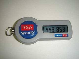 RSA SeureID SID800 Token