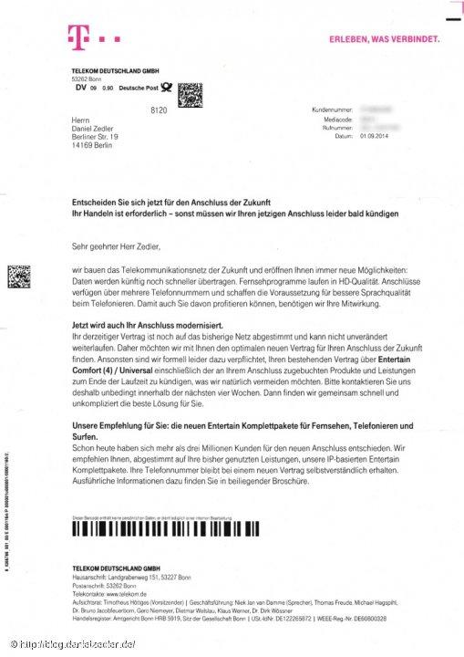 Die Deutsche Telekom macht Ernst